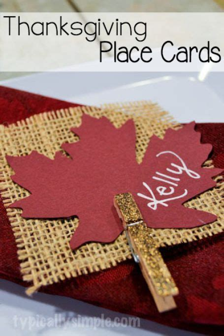make place cards place cards burlap card and thanksgiving place cards on
