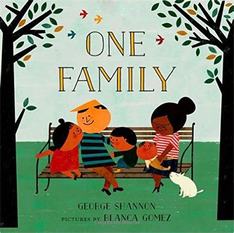picture book about family one family a children s picture book celebrating the