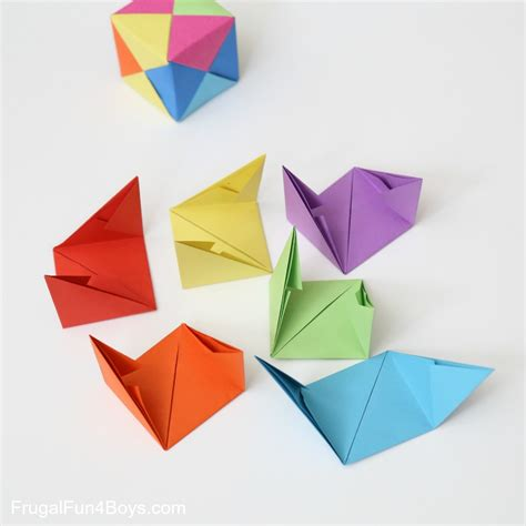 interesting origami how to fold origami paper cubes
