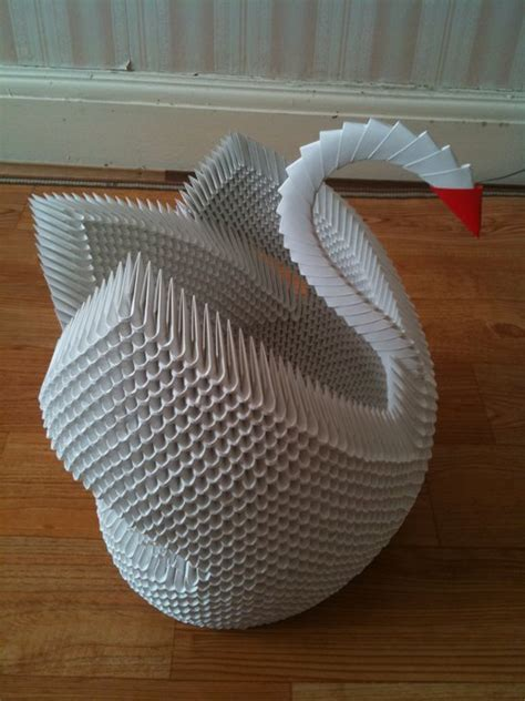 3d origami paper size modular origami by cakecrumbs on deviantart