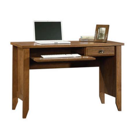 oak finish computer desk sauder shoal creek computer desk oak finish by sauder at