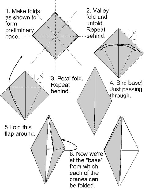 how to make a origami bird base origami crane base comot