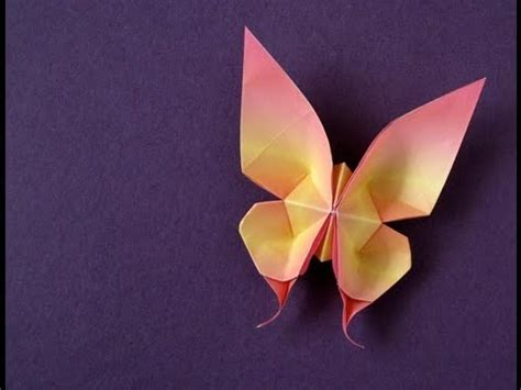 origami swallowtail butterfly origami swallowtail butterfly tutorial