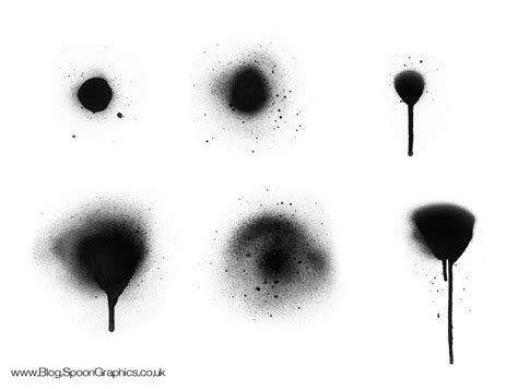 spray paint effect photoshop free hi res spraypaint photoshop brushes set two