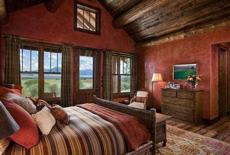 paint colors for rustic bedroom rustic bedrooms design ideas canadian log homes