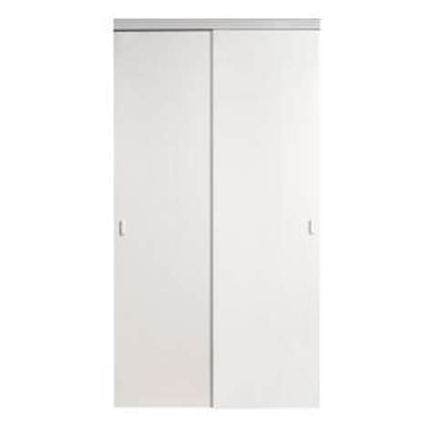 home depot closet doors sliding impact plus 72 in x 96 in smooth flush solid primed