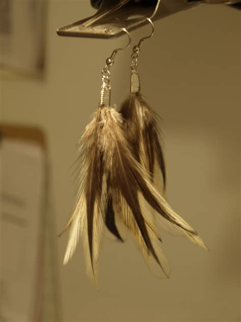 how to make feather jewelry and easy diy feather earrings see cate create