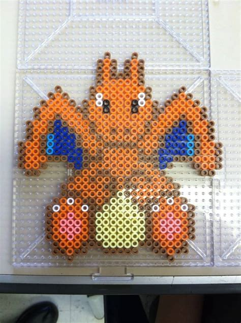 charizard perler charizard perler bead by khoriana on deviantart