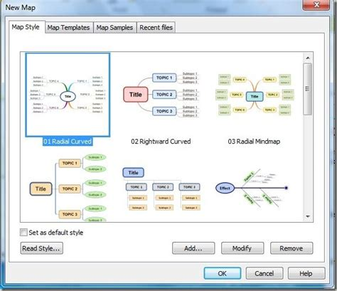 create mind maps and diagrams for presentations with