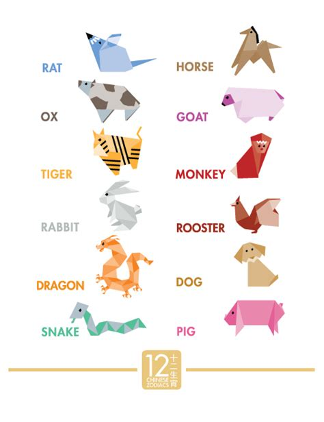 origami signs origami zodiacs on behance