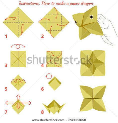 how to make a out of paper origami instruct stock photos images pictures