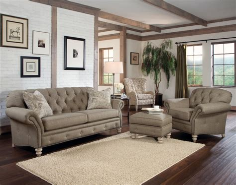 brown living room chairs rustic modern living room with light brown tufted sofa
