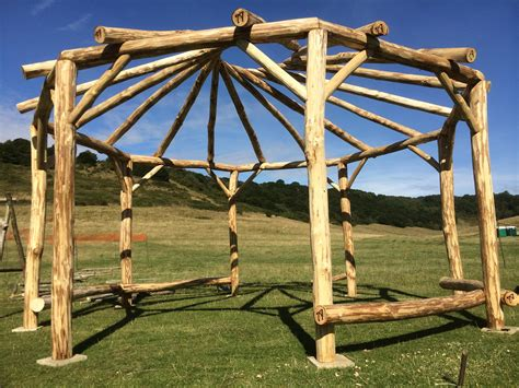 roundhouse woodworking reciprocal roof artizans of wood