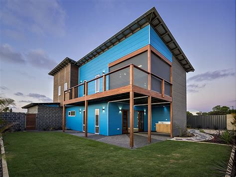 modern two storey house with streamline roof modern two story house in australia adorable home