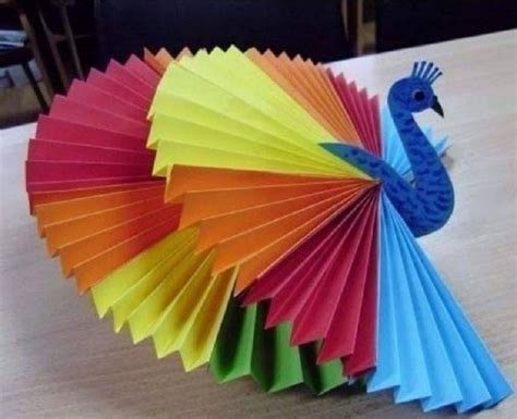 simple craft work for bricolage en papier pli 233 quelques id 233 es cr 233 atives