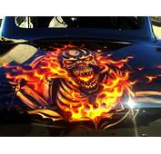 Car Boot  Airbrush Art Professional Air Brush Artist In