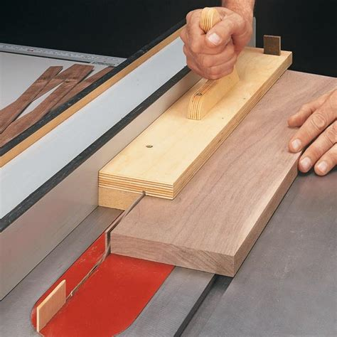 jigs for woodworking simple jig for thin strips woodsmith tips