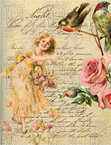 free decoupage images decoupage paper flowers exceptional ephemera