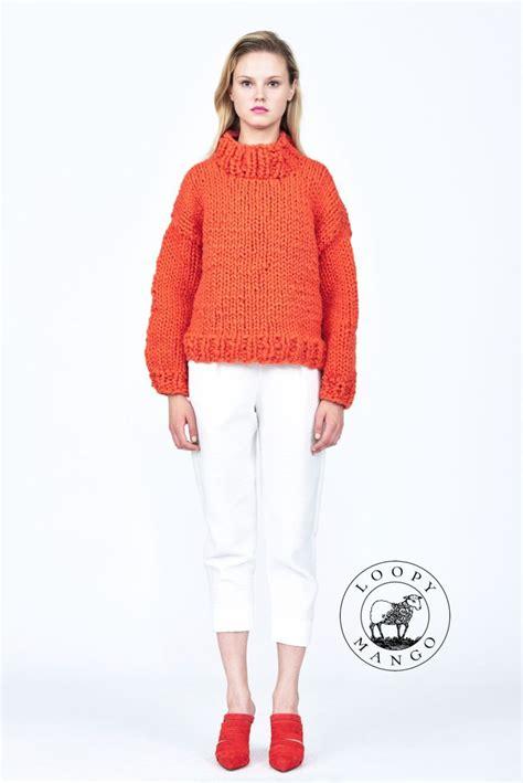 loopy knit cardigan loopy mango diy kit sweater chunky merino wool by
