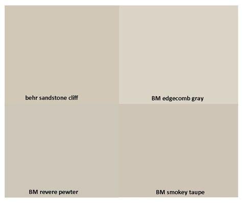 behr paint color closest to revere pewter gorgeous neutrals behr sandstone cliff benjamin