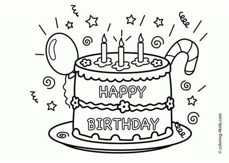 get this happy birthday coloring pages free printable 46170