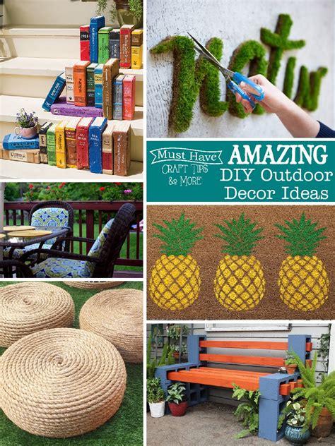 diy outdoor decor diy outdoor decor ideas mine for the