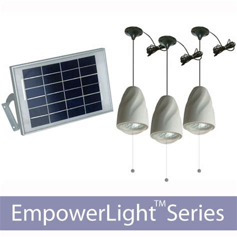 home solar light indoor shelter solar lighting kits