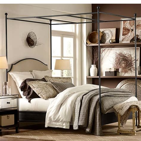 pottery barn beds pottery barn aberdeen canopy bed copy cat chic