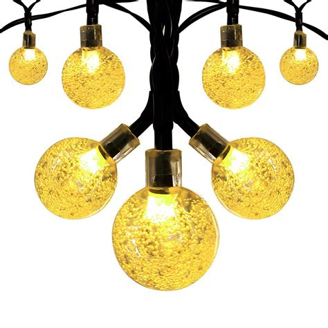 solar globe string lights solar globe outdoor string lights 8 95 from 30