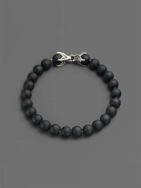 spiritual bead bracelets david yurman spiritual bead onyx bracelet in black onyx