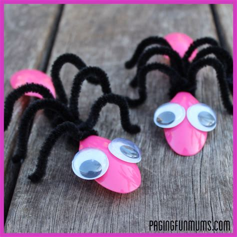 insect crafts for bug craft using spoons and pipe cleaners