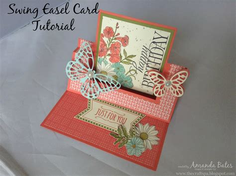 card tutorial the craft spa stin up uk independent demonstrator