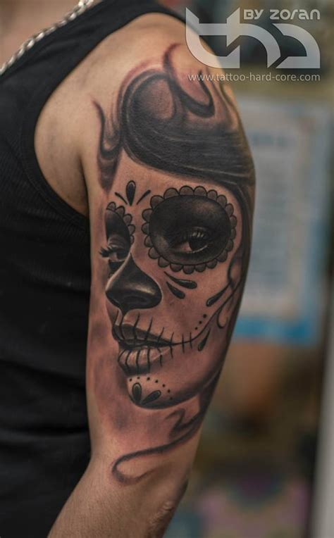 30 phenomenal catrina sleeve tattoos golfian com
