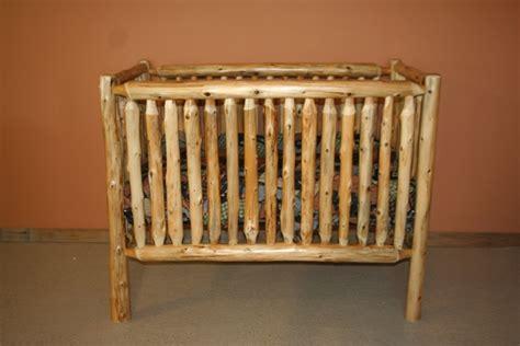 log baby cribs cedar log baby crib convertible barn wood furniture