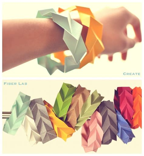 origami for 6 year olds playful paper bracelets diy blomming about arts