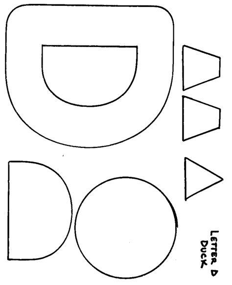 craft templates for printable letter d crafts dinosaur