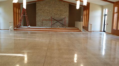 Floor Burnisher by Church High Gloss Concrete Floor Polishing In Waterloo Iowa
