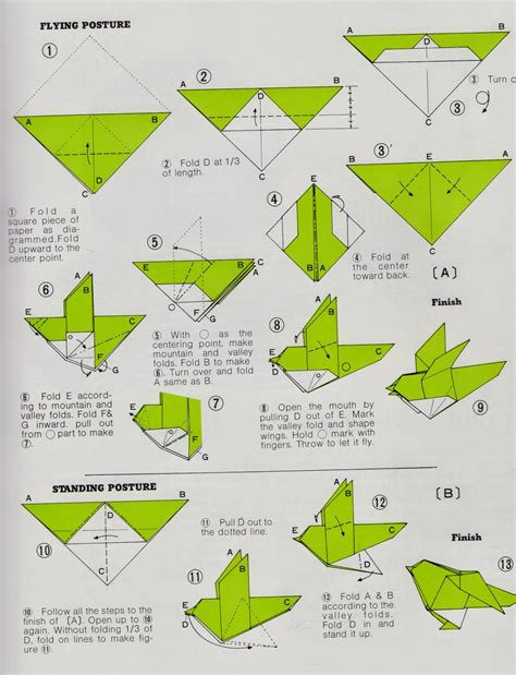 easy origami bird for how to make an origami bird easy origami