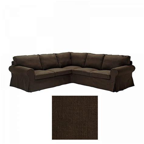 corner sofa slipcover ikea ektorp 2 2 corner sofa cover slipcover svanby brown