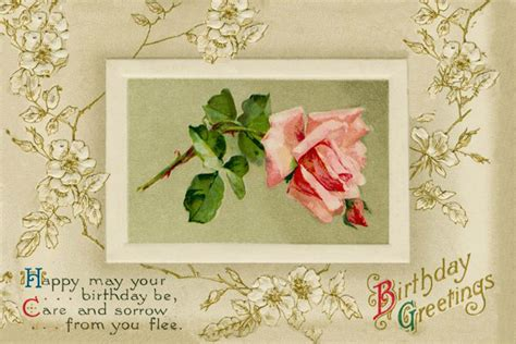 greeting cards for beautiful birthday greeting card with pink picture