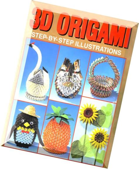 3d origami book free pdf 3d origami step by step illustrations pdf magazine