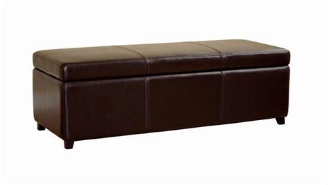 cheap storage ottoman bench leather brown storage bench ottoman affordable