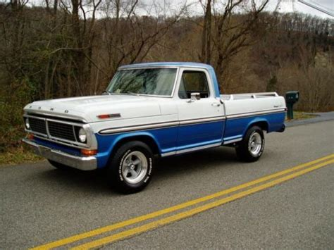 sell used 1970 ford f 100 ranger xlt must see factory a c v8 automatic in shawsville