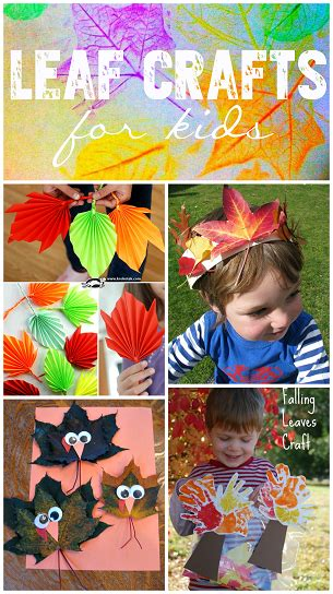 kid crafts for fall fall leaf crafts for to make crafty morning