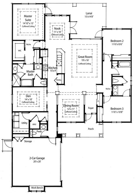 energy saving house plans energy efficient house plan 33019zr 1st floor master suite cad available corner lot