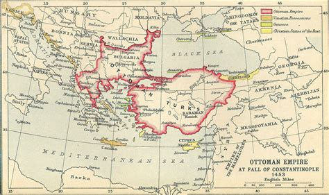 ottomans conquered constantinople map of ottoman empire with history facts istanbul