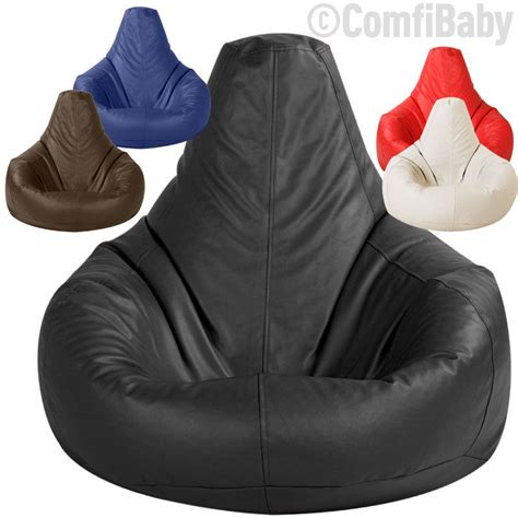 Gaming Bean Bag Chairs For Adults by Beanbag Gamer Chair Gaming Bean Bag Faux Leather