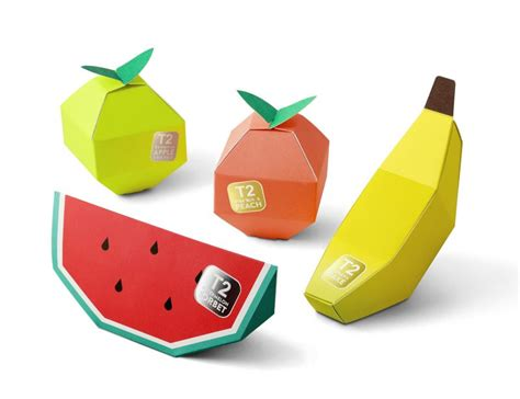 origami packaging design tea in fruit origami packaging design aterietateriet