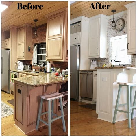 kitchen remodel ideas before and after kitchen makeover before after refresh restyle
