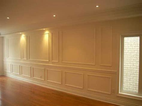 wall molding how to repair how to install wall panel molding brick